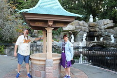 "Tracey and Scott at the Disneyland Wishing Well • <a style=""font-size:0.8em;"" href=""http://www.flickr.com/photos/28558260@N04/30896729147/"" target=""_blank"">View on Flickr</a>"