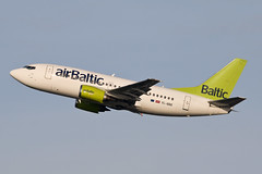 Boeing 737 YL-BBE Air Baltic (Jarco Hage) Tags: schiphol amsterdam ams eham byjarcohage aviation airplane vliegtuig aircraft vliegtuigen nederland netherlands airport boeing 737 ylbbe air baltic