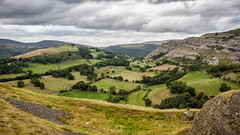 Photo of Taken from Dinas Bran Castle