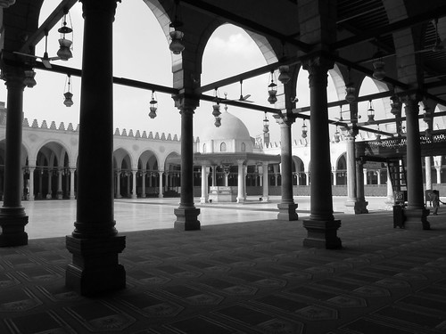 Mosque of Amr ibn al-As, Cairo, Egypt.