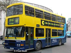 Dublin Bus RA325 (96D325). (Fred Dean Jnr) Tags: april2005 dublin dublinbus busathacliath dublinbusyellowbluelivery volvo olympian alexander r collegegreendublin dublinbusroute83 ra325 96d325 htown p690ghc