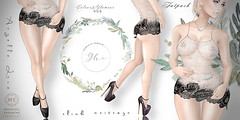 Angelle-Lace-Poster-and-Night-Angelle-Heels (Gabrielle Hamelin) Tags: slinkhourglass slinkphysique maitreya fatpack colourshud materialsenhanced colourstinting exclusivetextures christmas galawear eveningwear formalwear lace glamourhud
