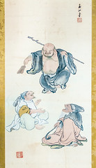 Conversation (campra) Tags: painting drawing art scroll wada gassho house interior shirakawago shirakawa unesco japan gifuken 岐阜県 白川郷 和田研