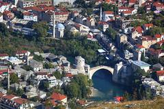 Mostar Zoomed (hapulcu) Tags: bosnaihercegovina bih bosna bosnia herbst hercegovina mostar automne autumn autunno otoño toamna