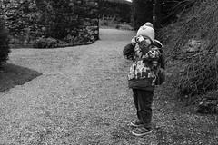 Hamish's attempt at a group portrait (timnutt) Tags: sizergh sizerghcastle cumbria 35mm children garden xt2 bw acros monochrome lancashire mono fuji fujichrome family blackandwhite 35f2wr fujifilm
