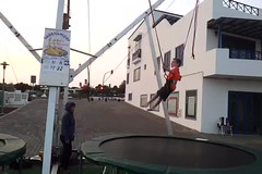 trampoline 2 (tcbuzz) Tags: lanzarote 2013 canary islands spain atlantic holiday sunshine