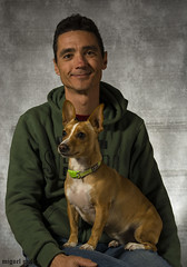 friends (miguelmoll387) Tags: retrato portrait hombre man dog perro nikon nikond7100 sigma sigma1770 modelo posado