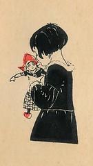 sijtje  Aafjes  Nieuwe oogst voor de kleintjes 1925, ill pg  47 (janwillemsen) Tags: sijtjaafjes bookillustration 1925 schoolbook childrensbook