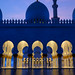 Twilight at Sheikh Zayed Grand Mosque