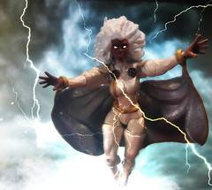 Storm (peanutsinspace) Tags: marvelcomics marvel marvellegends hasbrolegends hasbro xmen storm onesixth custom customfigures actionfigures