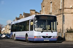 First Glasgow Y949 RTD (61710) | Route 241 | Orchard St, Motherwell (Strathclyder) Tags: first glasgow firstglasgow volvo b10ble wright renown y949rtd y949 rtd 61710 orchard street motherwell north lanarkshire scotland olympialivery overtown sv611 firstgreatermanchester 665