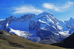 D20088.  From the Gornergratbahn. (Ron Fisher) Tags: schweiz suisse svizzera switzerland kantonwallis valais cantonvallese europa europe zermatt mountain snow glacier gletcher diealpen thealps swissalps alpessuisses schweizeralpen alpisvizzere sony sonyrx100iii sonyrx100m3 compactcamera