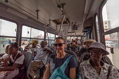 Taking the bus to Hunte's Gardens (Chicharrónes) Tags: bridgetown saintmichael barbados bb