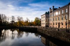 Streets of Gothenburg (Maria Eklind) Tags: operan autumn lillabommen gothenburg göteborg reflection spegling sweden gothenburgopera höst city västragötalandslän sverige se