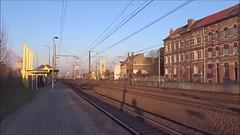 IZY 3224 + 3213 @ Ruisbroek - the movie (Wouter De Haeck) Tags: belgië belgique belgien infrabel l96n brusselzuid bruxellesmidi halle vlaamsbrabant sintpietersleeuw ruisbroek thalys izy tgv tmst transmanchesupertrain e300 gecalsthom bn paris parisnord