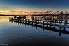 Winter Sunrise on Edgartown Harbor (John Piekos) Tags: tranquil d750 2470mm winter peaceful pier water harbor massachusetts edgartown christmas christmasinedgartown dock calm holiday marthasvineyard nikon boats dawn sunrise