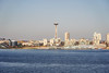 Seattle-Bainbridge Ferry-15 (_futurelandscapes_) Tags: none seattle bainbridgeisland ferry washington transit boat water cityscape skyline autumn sunny bluesky clear bright calm travel vacation city spaceneedle highrise industrial waterfront pier pikeplace