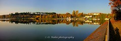 Losheim am See (O.Hahn Photography) Tags: losheimamsee herbst autumn water wasser see lake mirror spiegelung saarland saarhunsrücksteig wandern hiking nature natur panorama