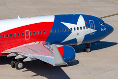 Southwest Airlines Boeing 737-7H4(WL) (zfwaviation) Tags: kdal dal dallaslovefield airport airplane plane aircraft airliner texas n931wn swa wn lonestar one special b737 737700