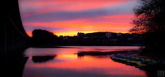 GOOD morning (MAICN) Tags: inthemorning x100f colorfull landscape landschaft see water lake fujifilm ammorgen iserlohn fuji seilersee mirroring clouds spiegelung sonnenaufgang sunrise wasser 2019 wolken reflection
