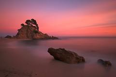 Sunset Cala Cap Roig (jordimasramon) Tags: cala caproig calacaproig calonge girona catalonia catalunya winter eos5div eos5dmarkiv eos canon atardecer sea mar playa beach sun outdoor landscape puestadesol sunset