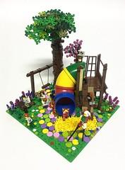 Color Bubble City Park