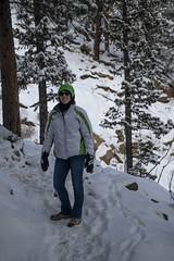 On the Snow (noname_clark) Tags: rockymountainnationalpark outdoor hike snow lillymountain katherine trail