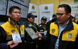 SMSC PRESENTA  UNIFORMES Y CREDENCIALES PARA FUNCIONARIOS DE LA INTENDENCIA Y GUARDIAS MUNICIPALES (3)