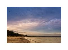 Timmendorfer Strand XVI (Passie13(Ines van Megen-Thijssen)) Tags: deutschland timmendorferstrand ostsee beach strand timmendorf germany fujifilm x100f inesvanmegen inesvanmegenthijssen sunset