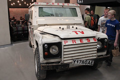 Land Rover Defender Reuter TV Press (portmanspad) Tags: reuter tv press land rover defender