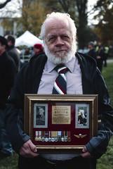 Fathers Medals (tyson_laidler) Tags: ektachrome e100 35mm kodak remembrance day 2018 slide film canon eos3