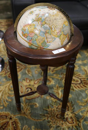 World globe on stand ($134.40)