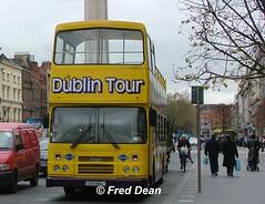 Dualway (91D10104). (Fred Dean Jnr) Tags: april2005 dublin leyland olympian alexander r oconnellstreetdublin dualway 91d10104 exdublinbus rh104