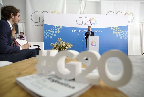 Conferencia de Prensa - Secretario Luis by G20 Argentina, on Flickr