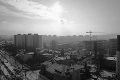 DSCF1652a_jnowak64 (jnowak64) Tags: poland polska malopolska cracow krakow krakoff bronowice krajobraz architektura jesien aura śnieg mik bwextra