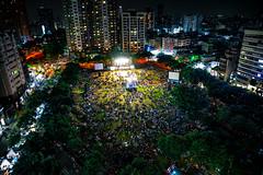 台中市民廣場 | 爵士音樂節 (IAN.space_) Tags: 城市 5d4 2470mm 夜拍 勤美 台中 勤美綠園道 市民廣場 爵士音樂節