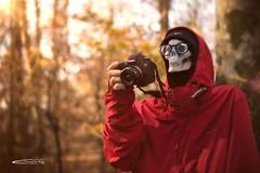 Aspettando L'ispirazione (caccia.gb) Tags: ispirazionepassionecanon6dteschiofaggetafotografarerossobosco 50mm