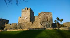 Castle Rushen in the sunshine. (Chris Kilpatrick) Tags: chris nokialumia1020 outdoor castle castletown castlerushen november isleofman bluesky building ancient