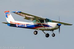 G-PTTB, Cessna 152, PTT Aviation, Leeds/Bradford May 2018 (Flying Fotos GB) Tags: leedsbradfordairport leedsbradford gpttc cessna reimscessna cessna152 pttaviation