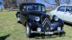 Citroen @ Waterloo (Jungle Jack Movements (ferroequinologist)) Tags: canberra act australian capital territory australia citroen traction avant 1957 black battle waterloo french britain british france car auto automobile chrome polish show shine vehicle sedan motor saloon classic collectable veteran old historic history vintage rare beautiful restored hottie carburettor injected fast great drive speed spin wheel exhaust loud rumble paint seat hood horsepower inches hp gear shift clutch tour touring owner proud bonnet transport pride engine litre 11b