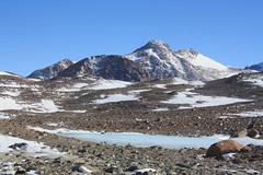 Marslandschaft von Andersson Ridge