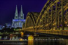 Kölner Dom mit Hohenzollernbrücke (Fotomanufaktur.lb) Tags: köln nordrheinwestfalen deutschland de hohenzollernbrücke schölkopf schoelkopf dom canon eos6d