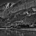 1200' Walls of the Boquillas Canyon (Black & White, Big Bend National Park)