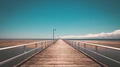 Urangan Pier. (brettvoss84) Tags: pier ocean water sky landscape landscapephotography amateurphotography canon abigfave