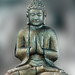 Buddha with praying hands