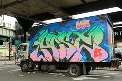 host18 (Luna Park) Tags: ny nyc newyork graffiti truck lunapark host18 dym