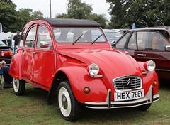 HEX 766Y (Nivek.Old.Gold) Tags: 1983 citroen 2cv6 special 602cc
