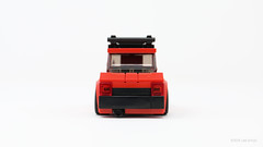 Toyota Starlet - Holiday Hauler Edition (PleaseYesPlease) Tags: moc lego speedchampions toyota starlet toyotastarlet slammed shakotan hella christmastree holidaytree scrapemetal lowrider leeschulz
