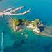 Cameo island Zakynthos, Greece aerial