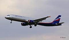 Airbus A321 ~ VP-BQR  Aeroflot (Aero.passion DBC-1) Tags: spotting cdg 2009 airbus a321 ~ vpbqr aeroflot